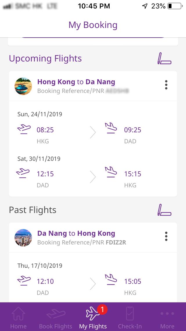 HK Express App - Scam